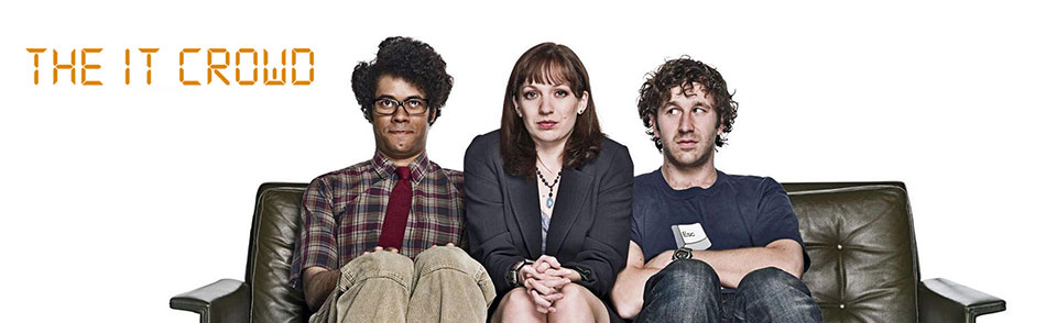 The IT Crowd a British tech television comedy
