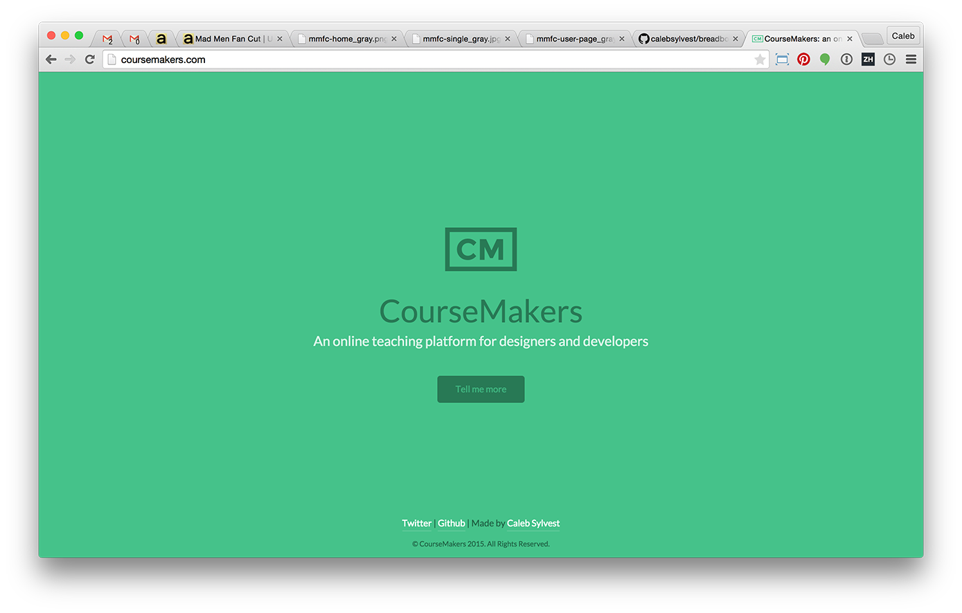 CourseMakers built with Breadbox